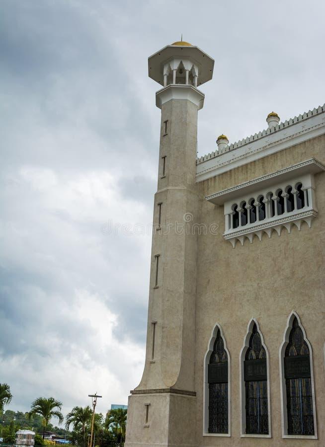 Omar Ali Saifuddien Mosque, Brunei Darussalam imagens de stock royalty free