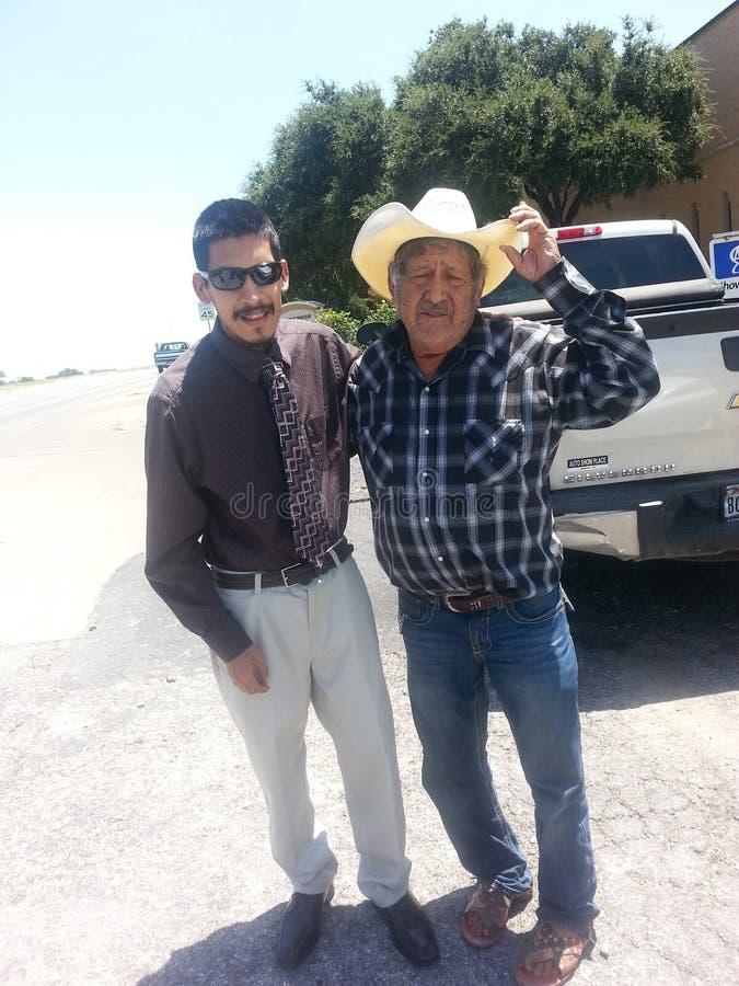Omar. Mi tio y yo royalty free stock photo