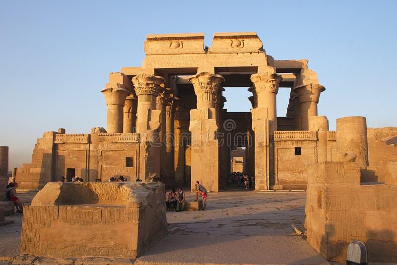 Ombo de Kom - Egipto fotografia de stock royalty free