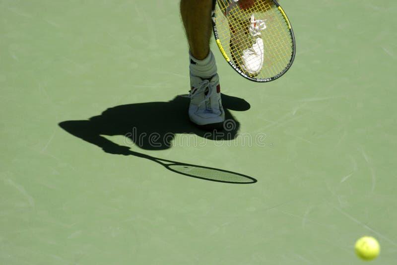 Ombra 03a di tennis fotografie stock