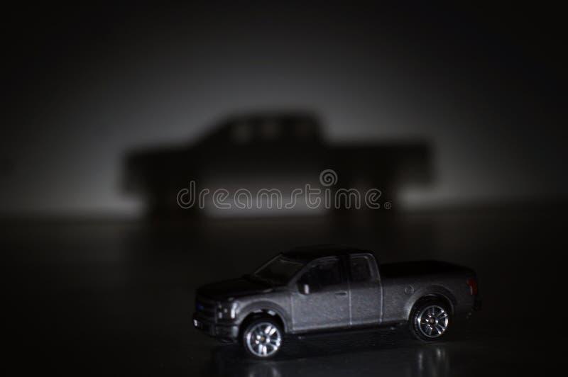 Ombra dell'automobile immagini stock