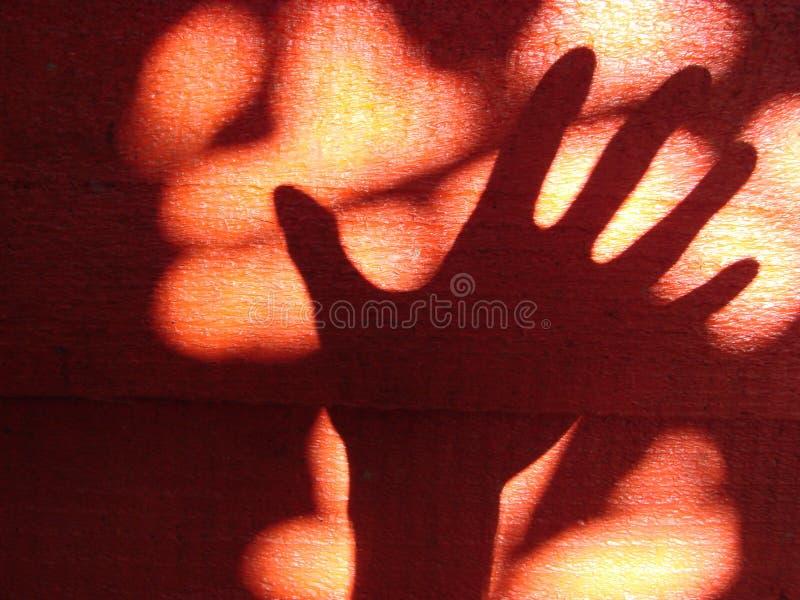 Ombra della mano