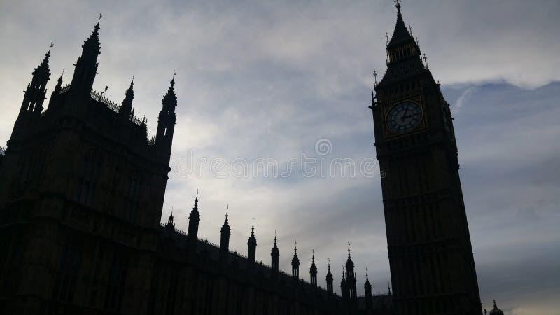 Ombra di Big Ben immagine stock libera da diritti