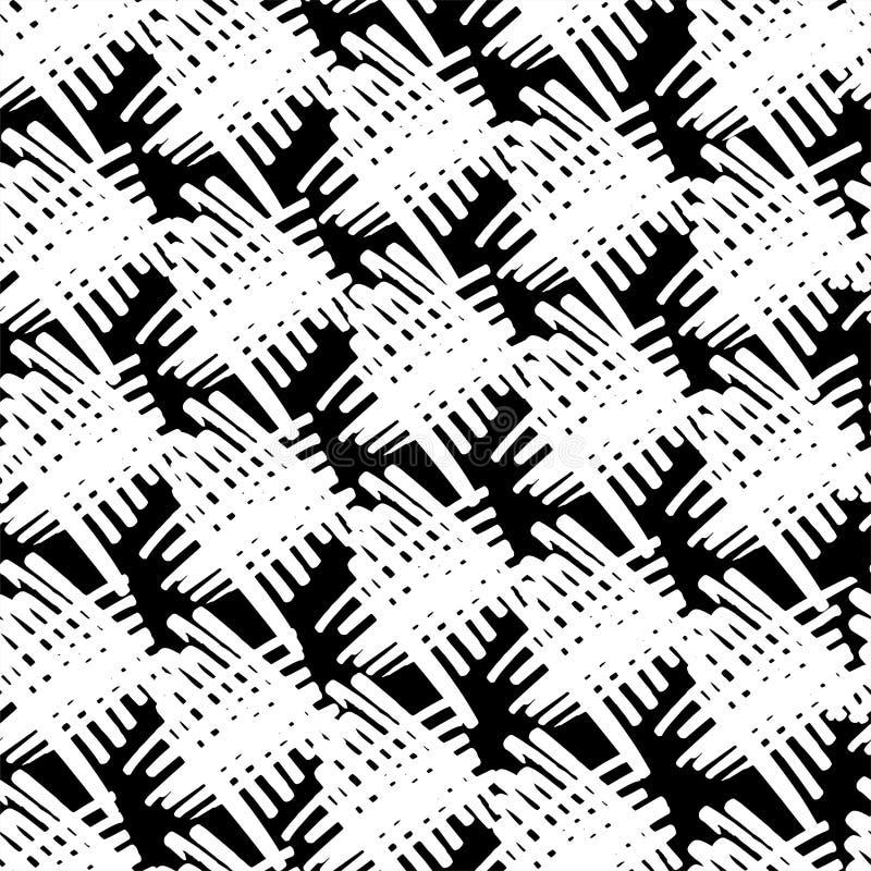 Ombrage de la diagonale dans le blanc illustration stock