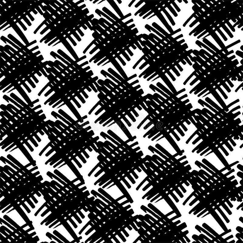 Ombrage de la diagonale dans le noir illustration stock