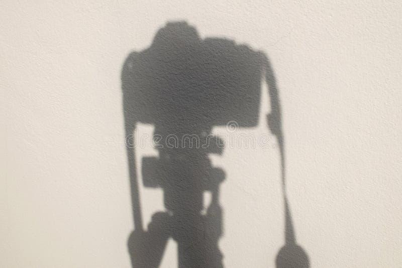 Ombre d'appareil-photo images libres de droits