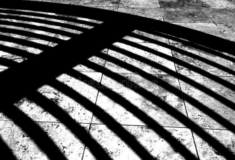 Ombre d'architecture image libre de droits