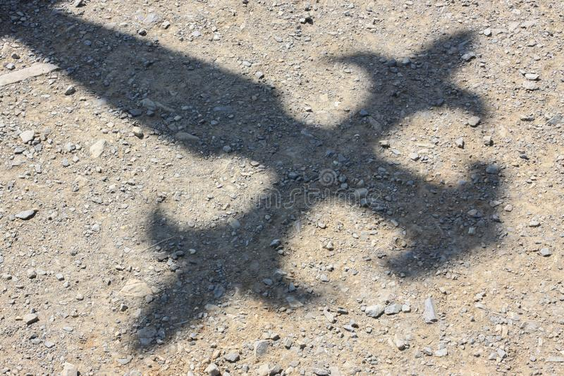 Ombre de croix de Santiago photos libres de droits