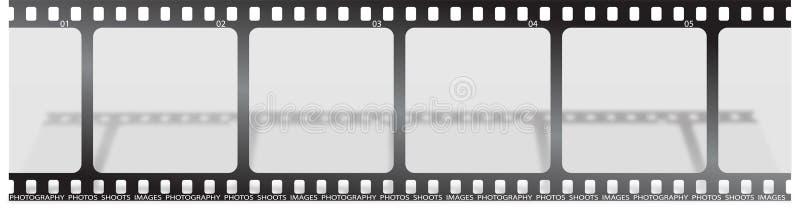Ombre de film illustration de vecteur