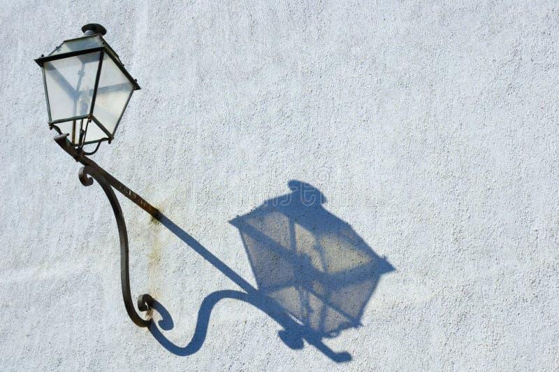 ombre de lampe photo stock