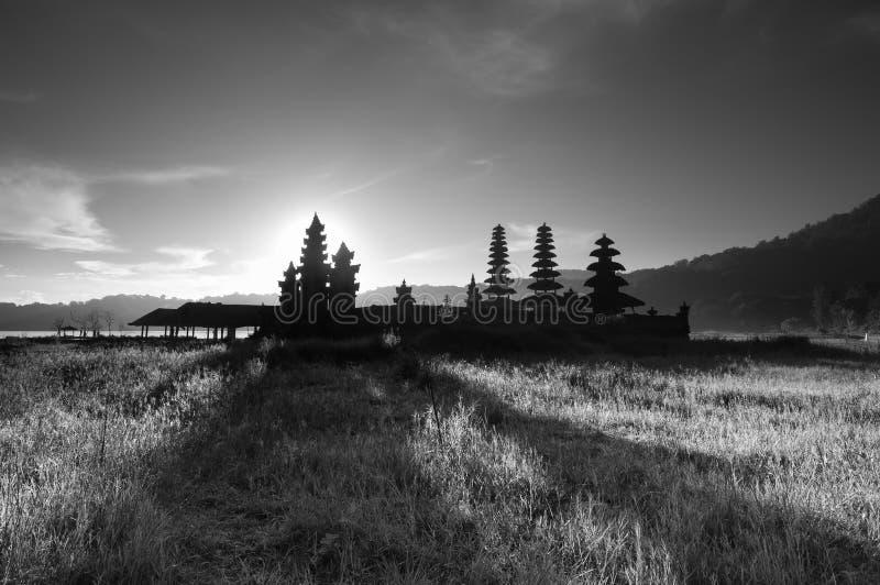 Ombre de temple photographie stock