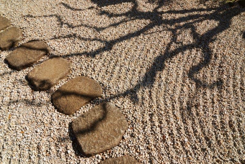 Ombre de zen photo stock