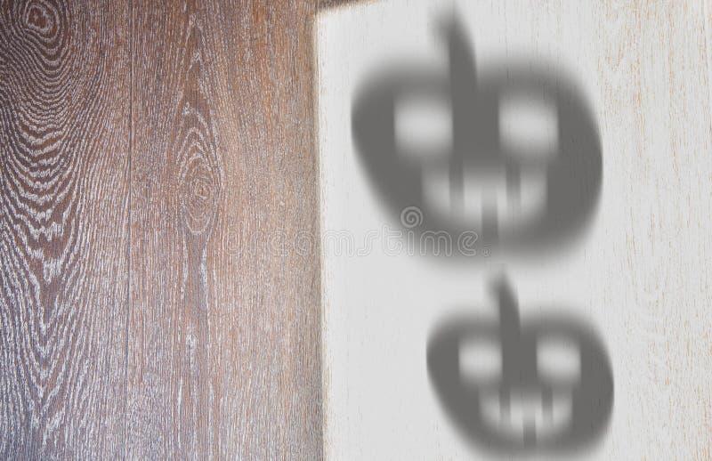 Ombre di Halloween immagine stock