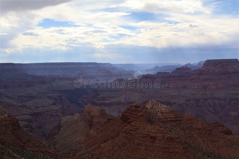 Ombre di pomeriggio in Grand Canyon fotografia stock libera da diritti