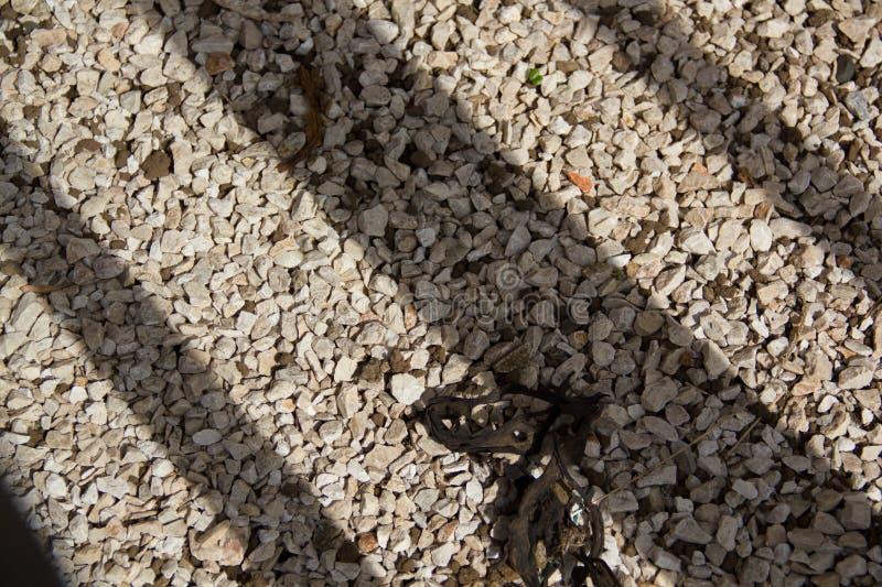 Ombre et asphalte images libres de droits