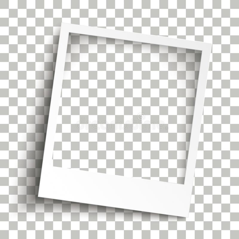 Ombre trasparenti della struttura istantanea smussata della foto royalty illustrazione gratis