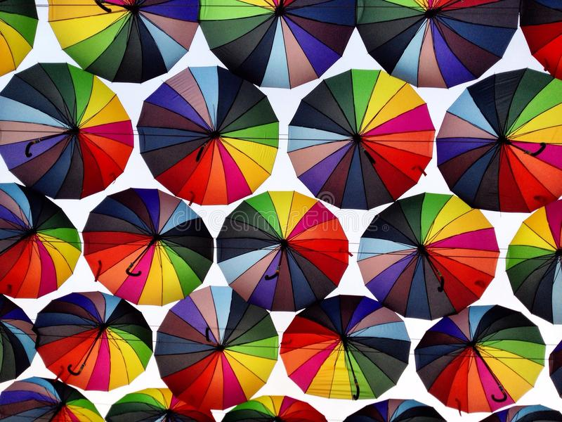 ombrelli immagini stock