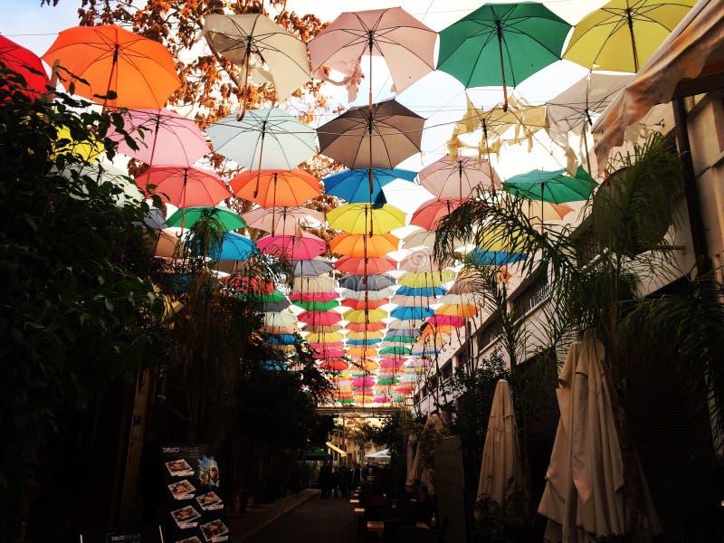 ombrelli fotografia stock libera da diritti