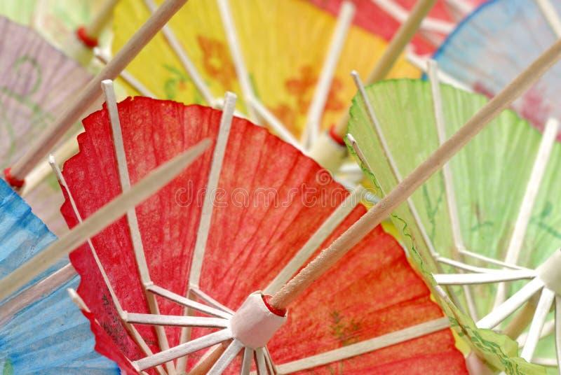 Ombrelli del cocktail immagini stock