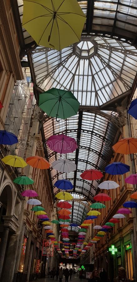 Ombrelli Gênes Italie de Soffitto photos libres de droits
