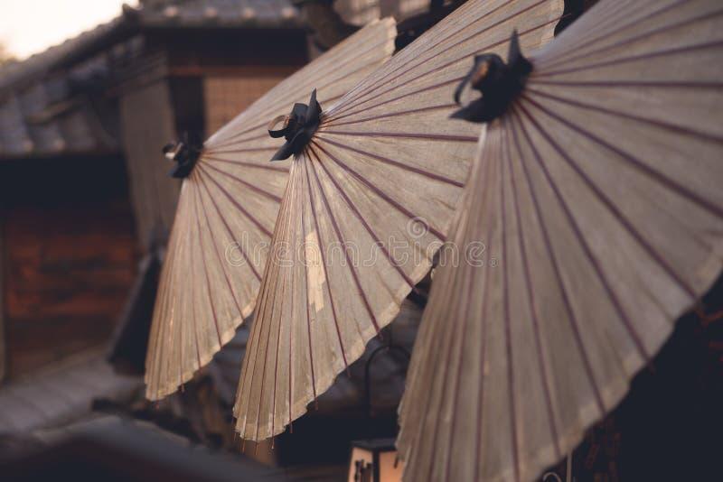 Ombrello della carta cerata del Giappone fotografie stock