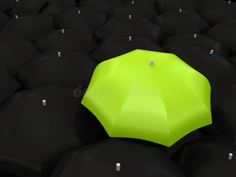 Ombrello di colore illustrazione di stock
