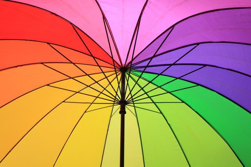 Ombrello di colore immagine stock