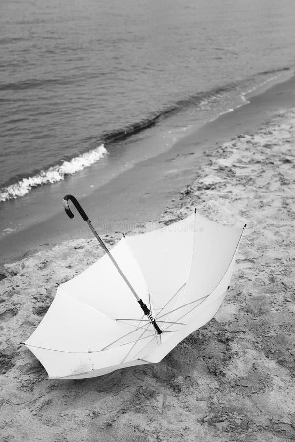 Ombrello perso fotografia stock libera da diritti