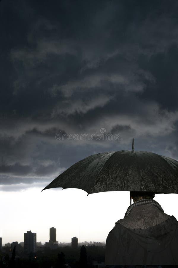 Ombrello-Tempesta fotografia stock