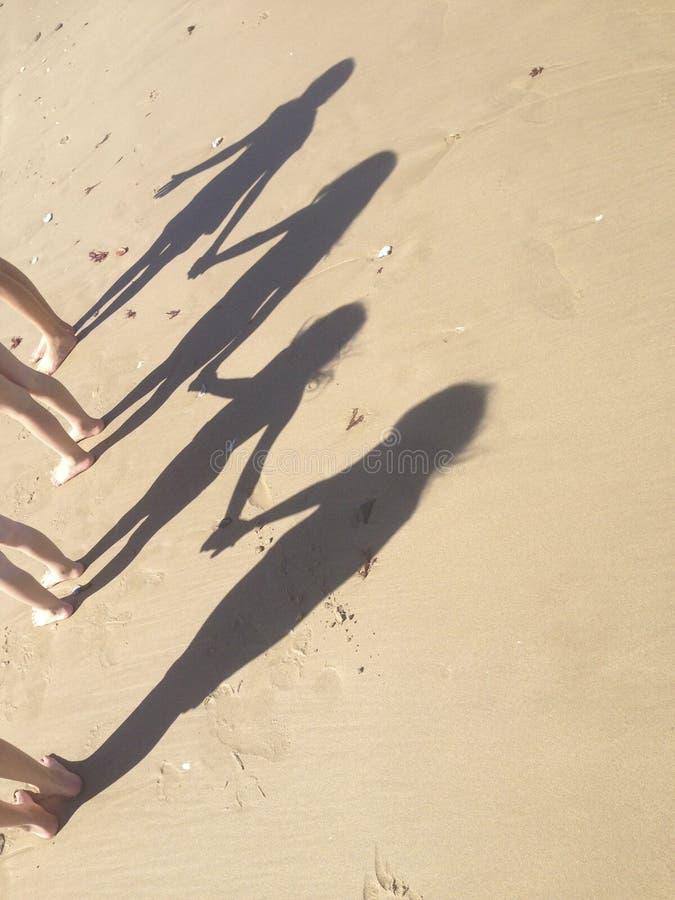 4 ombres photos libres de droits