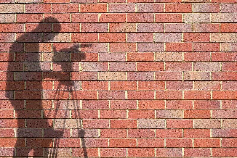 Download Ombres photo stock. Image du photo, vidéo, mâle, briques - 726910