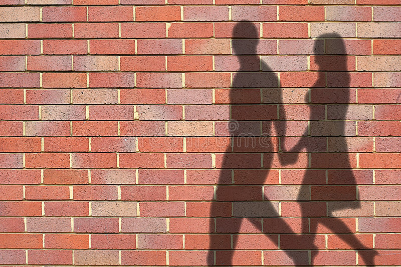 Download Ombres photo stock. Image du paire, silhouette, amour, homme - 726912