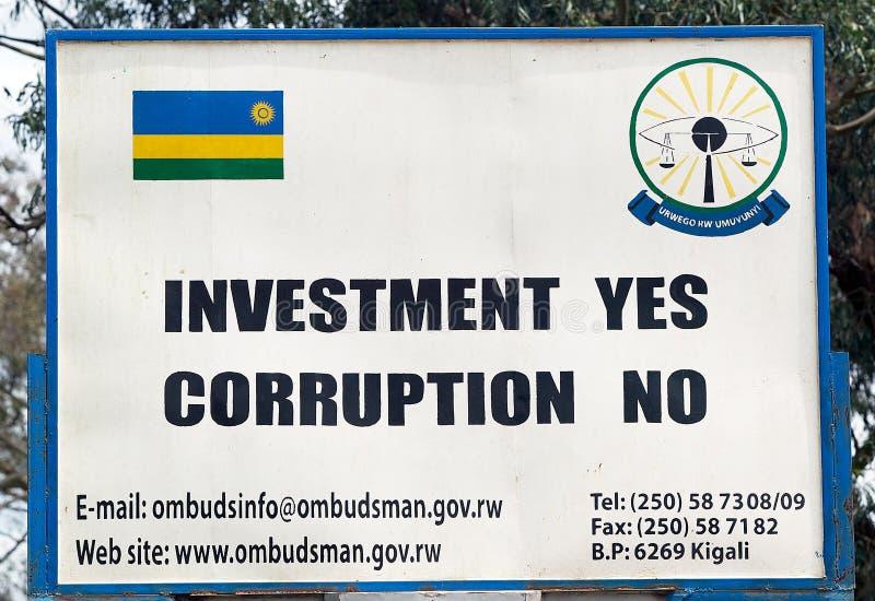 Ombudsman de Rwanda fotos de stock