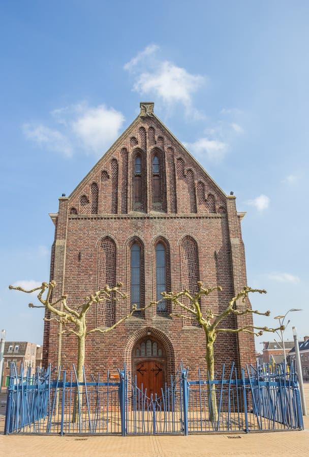 Omdanad eller Vitus kyrka i Winschoten royaltyfria bilder