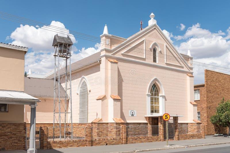 Omdanad kyrka i Middelburg arkivfoton