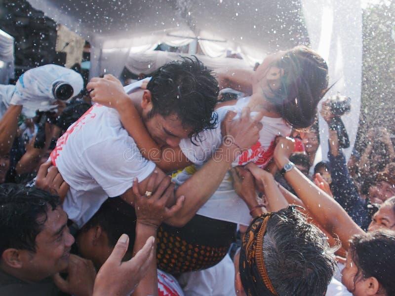 Omed Omedan Bali zdjęcia royalty free