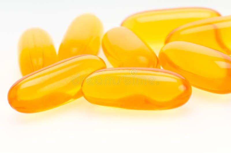 Omega 3 Pills Stock Image