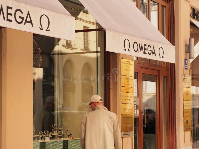 Omega fotografia stock