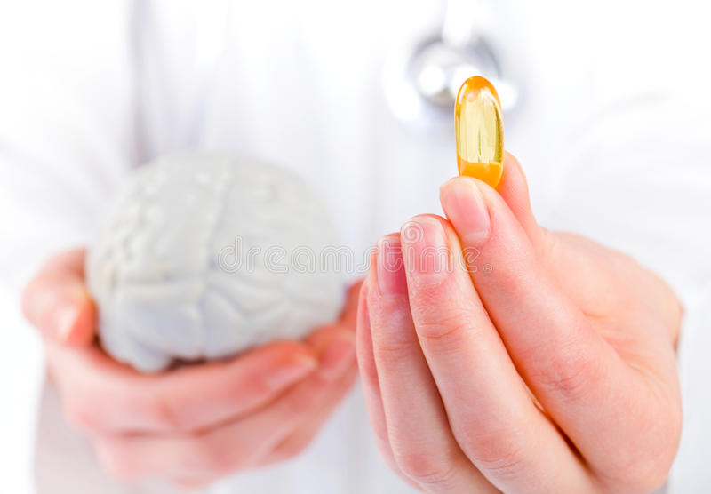 Download Omega 3 capsule stock photo. Image of brain, multivitamin - 39020078