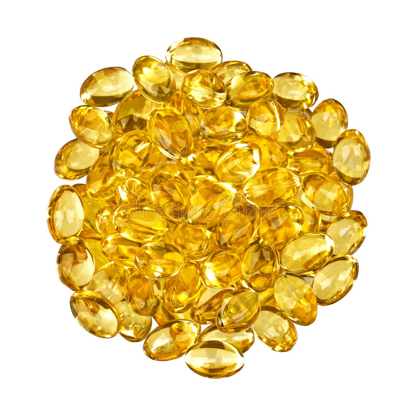 Omega 3 and 6 royalty free stock photos