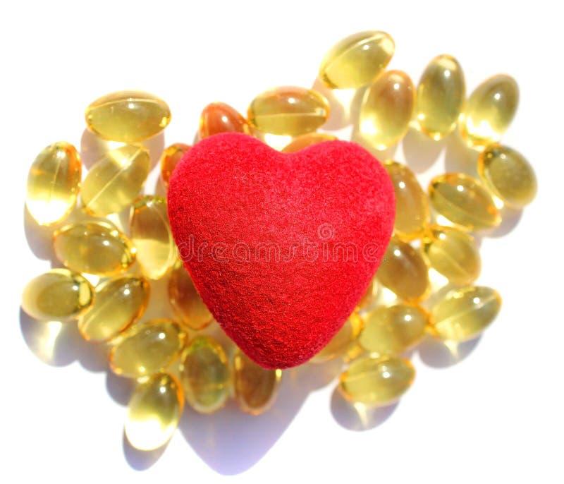 Omega 3 pilules photos stock