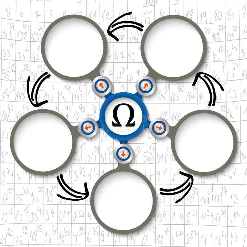 Omega Symbol Stock Vector Illustration Of Five Ancient 61359665
