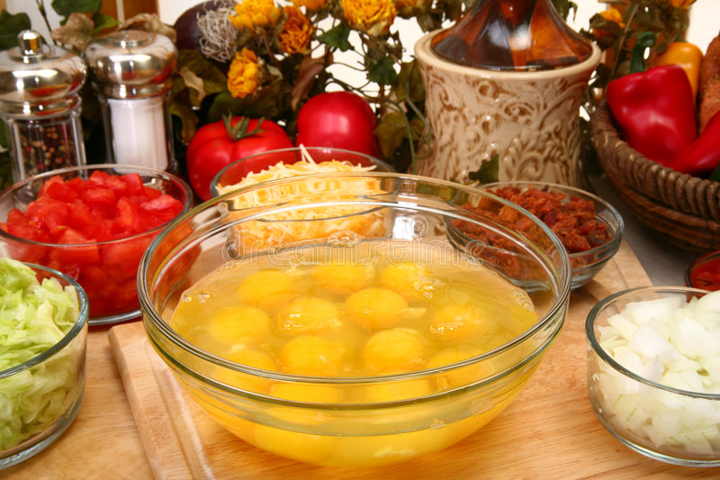 Download Omelet stock photo. Image of prepared, appetizer, hungry - 5505728