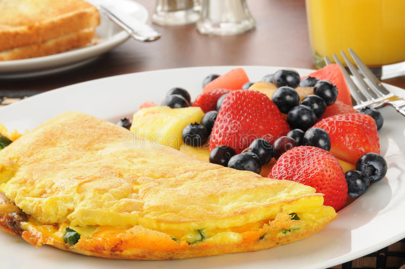 Download Omelet cloesup stock photo. Image of brunch, peppers - 28608700