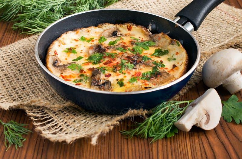 Omelet stock photo