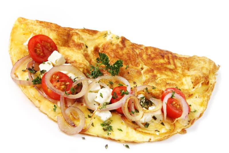Omeleta fotografia de stock royalty free