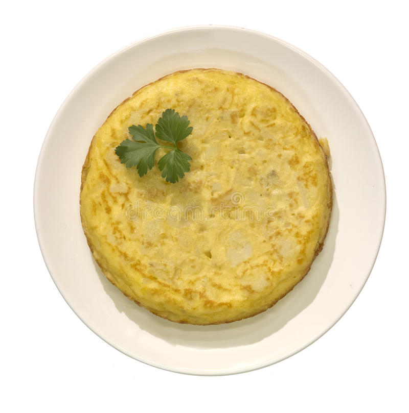 Omeleta espanhola foto de stock royalty free