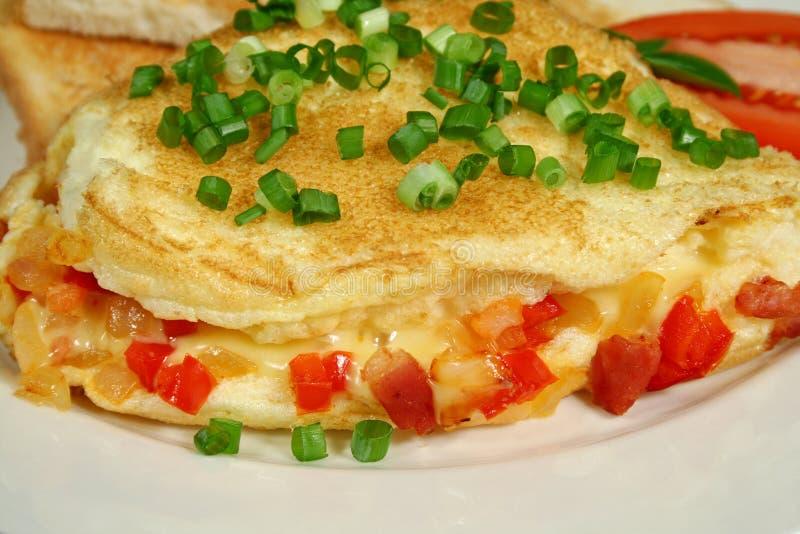 omelett 2 royaltyfria bilder