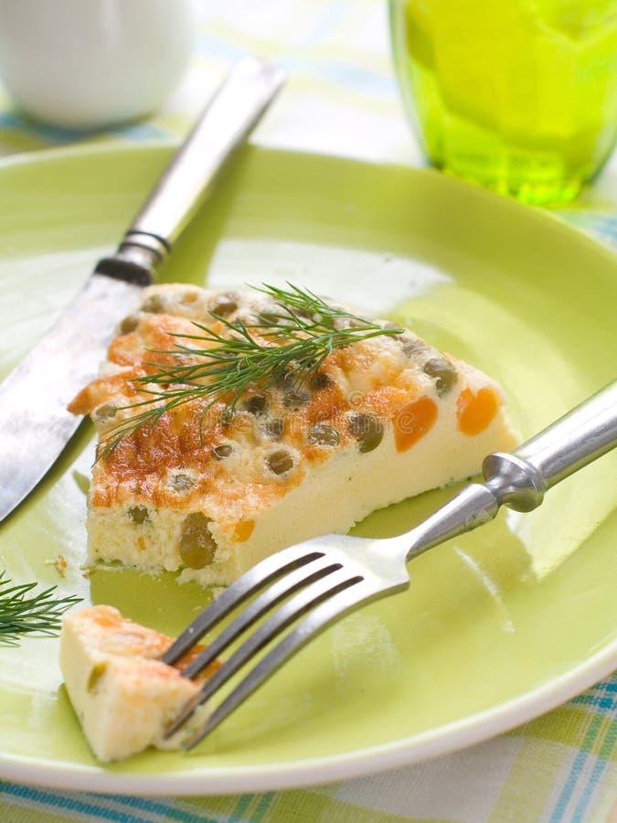 Omelett royaltyfria foton