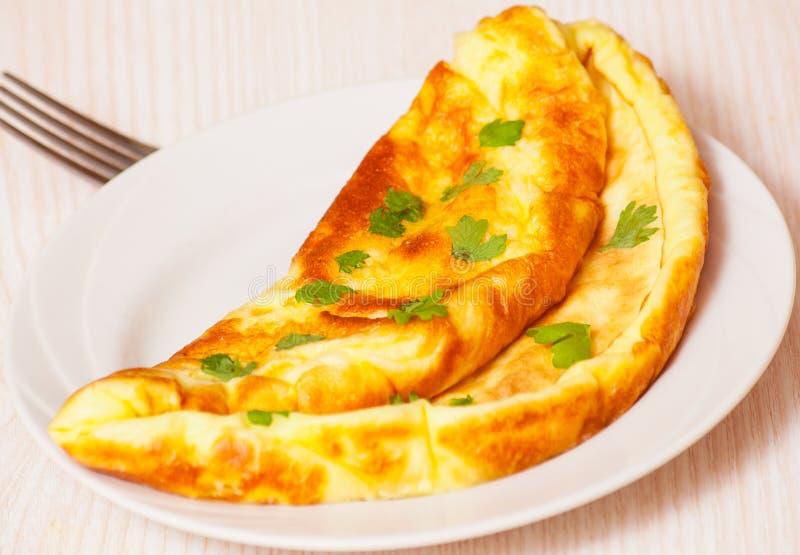 Omelett royaltyfri bild